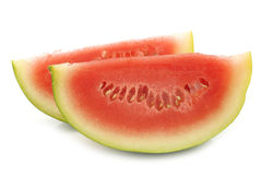 Fresh watermelon pieces Stock Photography