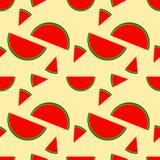 Fresh Watermelon seamless background.Illustration. Fresh Watermelon seamless background.Illustration vector stock illustration