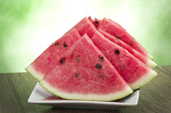 Fresh watermelon Stock Photo