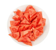 Fresh watermelon slices Stock Photo