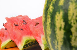 Fresh watermelon slices Royalty Free Stock Photos