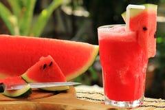 Fresh watermelon smoothie Royalty Free Stock Photo