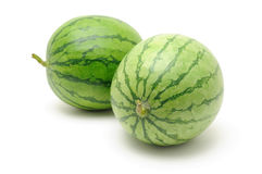 Fresh watermelons Stock Images