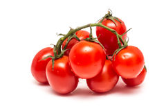 Fresh Wet Red Tomatoes Stock Image