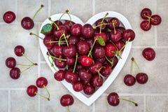 Free Fresh Wet Summer Cherry Stock Photo - 73432580