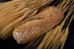 Fresh Wheat Bread. Royalty Free Stock Image