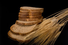 Fresh Wheat Bread. Royalty Free Stock Images