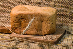 Fresh wheat bread Royalty Free Stock Photography