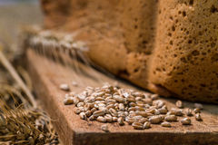 Fresh wheat bread Royalty Free Stock Photo