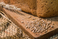 Fresh wheat bread Royalty Free Stock Photos