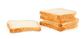 Fresh wheaten bread loafs Stock Images