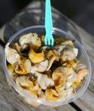 Fresh whelks - ready to eat Stock Photos