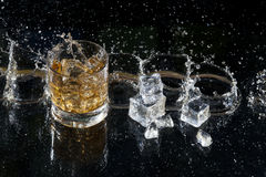 Fresh whiskey Stock Photo