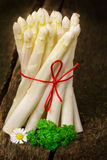 Fresh white asparagus Royalty Free Stock Photography