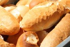 Fresh white bread Stock Images
