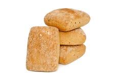 Fresh white bread isolated royalty free stock photos
