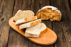 Fresh white bread Royalty Free Stock Photography