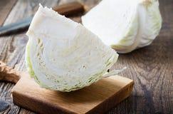 Fresh white cabbage Royalty Free Stock Photo