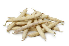 Fresh white coco beans Royalty Free Stock Images