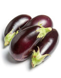 Fresh whole aubergine Royalty Free Stock Photography
