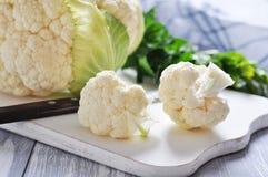 Fresh whole cauliflower Stock Photography