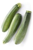 Fresh whole courgettes Royalty Free Stock Photography