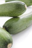 Fresh whole courgettes Royalty Free Stock Image