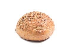 Fresh Whole Grain Bread Cut In Half Stock Image