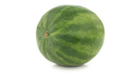 Fresh whole watermelon Stock Photography