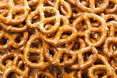 Fresh Whole Wheat Pretzels Stock Image