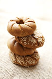 Fresh wholegrain bread Stock Image