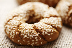 Fresh wholegrain bread stock images