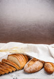 Fresh wholegrain bread Stock Photo