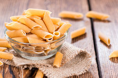 Fresh wholemeal Penne Royalty Free Stock Photo