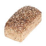 Fresh wholewheat bread with sunflower seeds Stock Photography