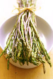 Fresh wild asparagus Royalty Free Stock Photos