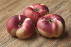 Fresh wild nectarines Stock Images