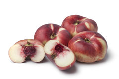Fresh wild nectarines Stock Photo