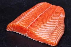 Fresh Wild Salmon Stock Image