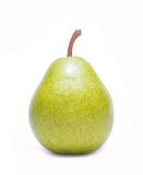 Fresh williams pear isolated on white background. In studio royalty free stock photo