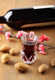 Fresh wine in crystal glass Stock Photo