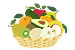 Fresh winter fruit Stock Image