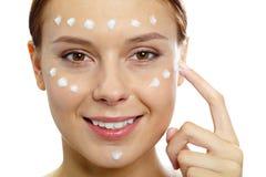 Facial care Stock Photography