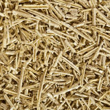 Fresh wood shavings Stock Photo