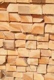 Fresh wooden studs Royalty Free Stock Photos