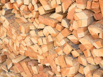 Fresh wooden studs Stock Photography