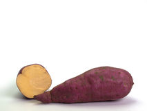Fresh yams Royalty Free Stock Photos