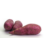 Fresh yams Royalty Free Stock Image