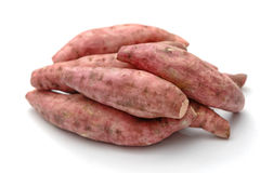 Fresh yams isolated Royalty Free Stock Image