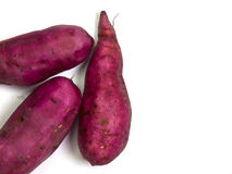 Fresh yams Royalty Free Stock Images